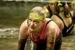 Claire tackles Total Warrior!